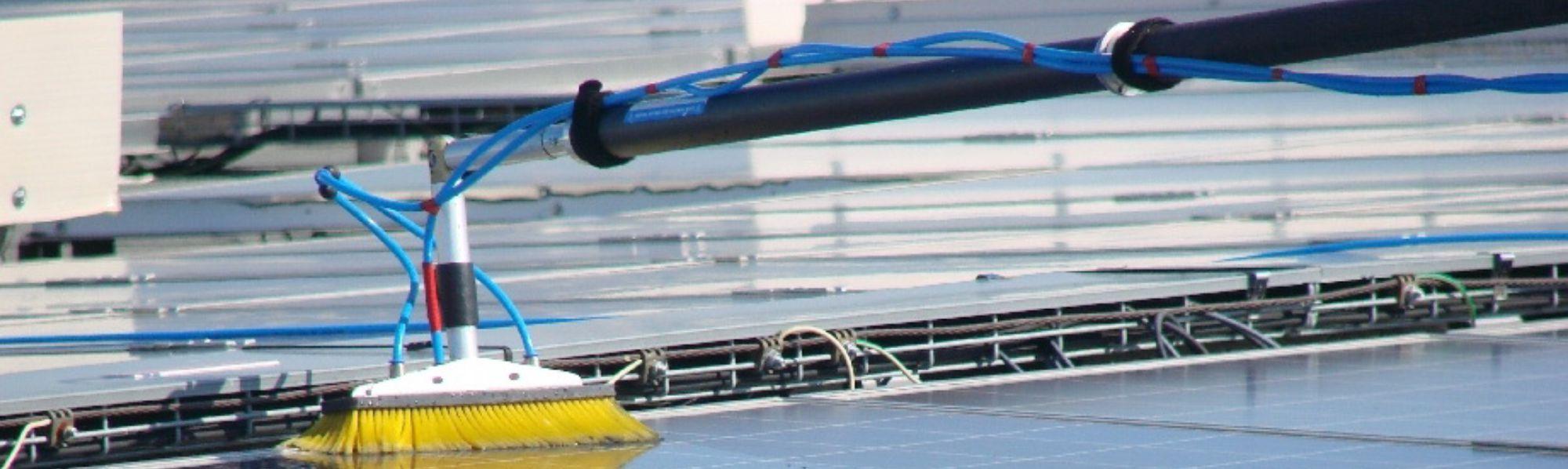 nettoyage photovoltaique dépannage maintenance